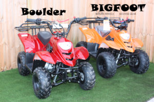 Big Foot 110cc Quad – Metallic Red