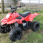 Big Foot 110cc Quad – Venom Red