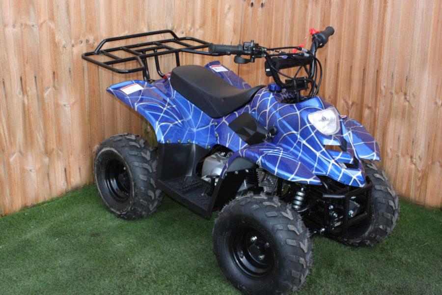 Big Foot 110cc Quad – Venom Blue