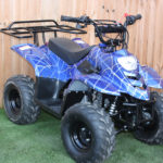 Big Foot 110cc Quad – Venom Blue