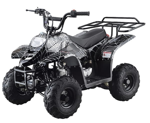 Big Foot 110cc Quad – Venom Black