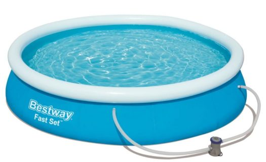 12ft Round Inflateable Pool With Filter Pump
