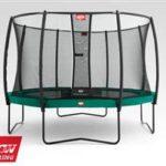 Berg Champion Trampoline 330 11ft Safety Net Delux – Green
