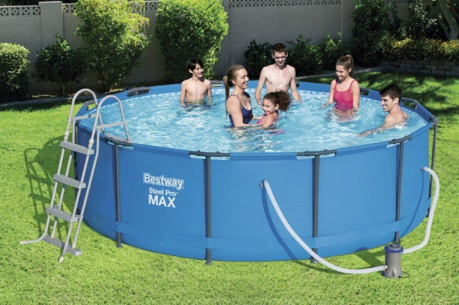 12'x39.5″ Steel Pro Frame Pool Set 56418