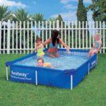 Steel Pro Rectangular Frame Pool 2.21m X 1.5m No Pump