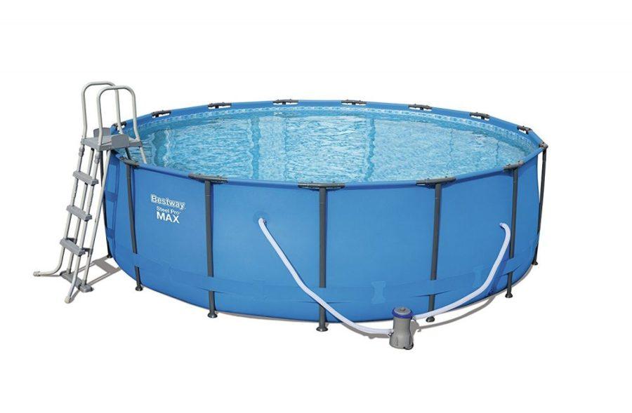 15'x48″ Steel Pro Frame Pool Set 56438