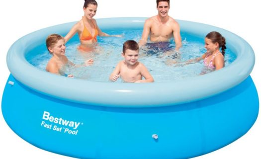 10ft Round Inflatable Pool