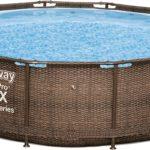 12'x39.5″ Stl Pro Deluxe Pool Set