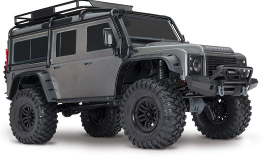 Traxxas TRX-4 Land Rover Defender 110 – Silver Grey