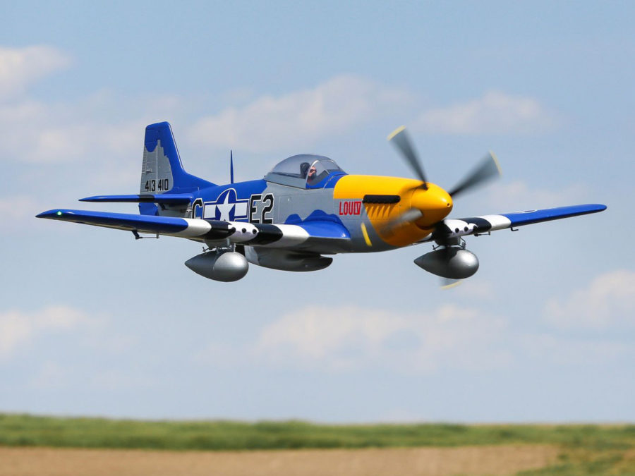 P-51d Mustang 1.5m Bnf Basic