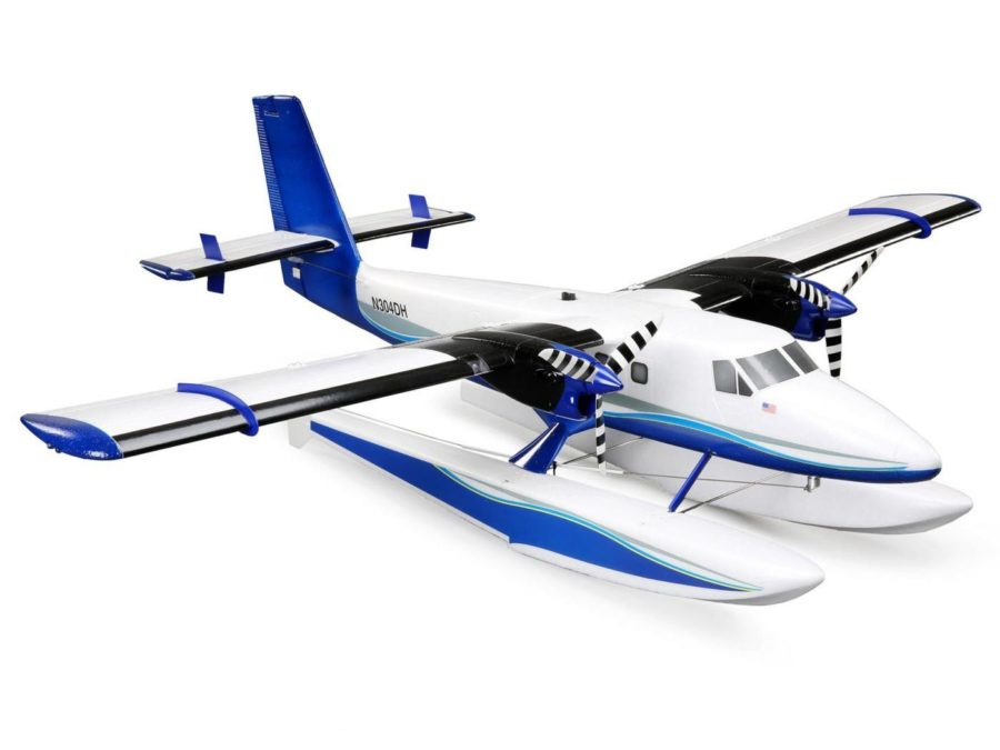 Twin Otter 1.2m Bnf Basic As3x|safe