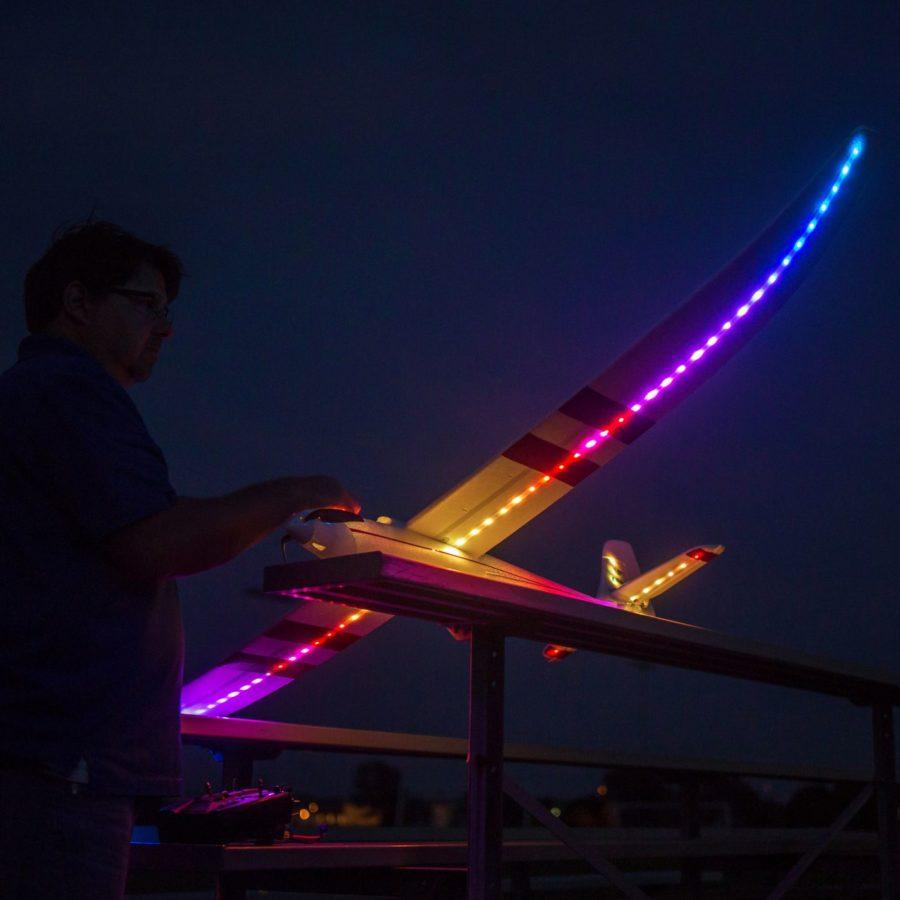 E-flite Night Radian Ft Bnf Basic