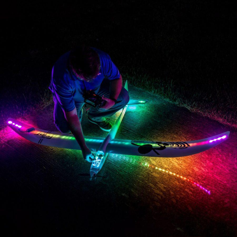 E-flite Night Radian Ft Pnp