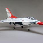 F-16 Thunderbirds 70mm Edf Jet Bnf Basic