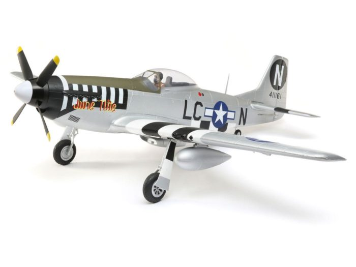 P-51D Mustang 1.2m BNF Basic w|AS3X and SS