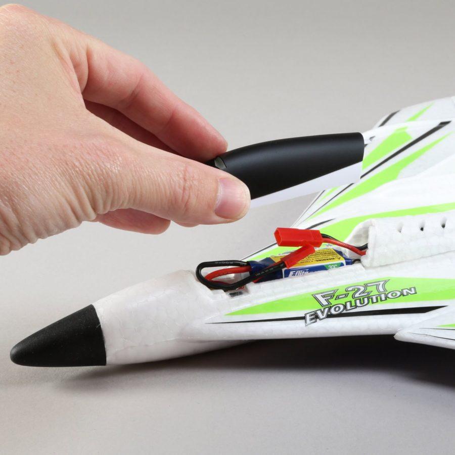E-flite Umx F-27 Bl Bnf Basic