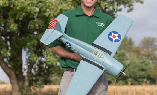F4F Wildcat 1.0m BNF Basic w|AS3X and SS