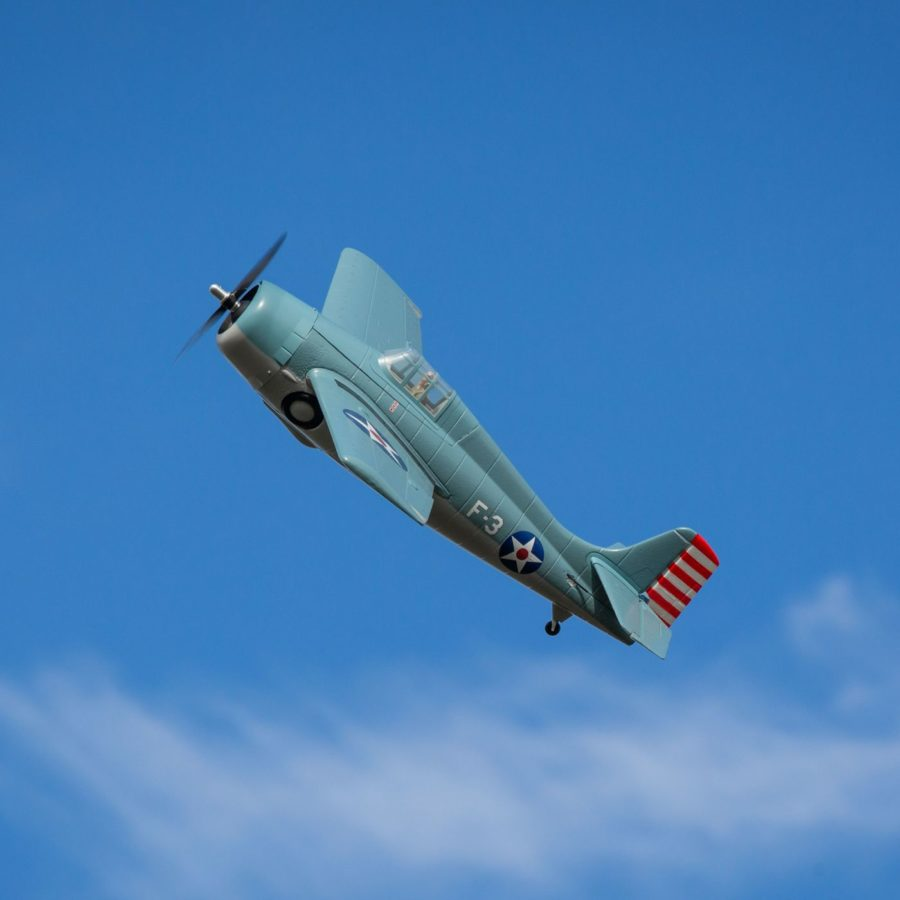 F4f Wildcat 1.0m Bnf Basic W as3x And Ss
