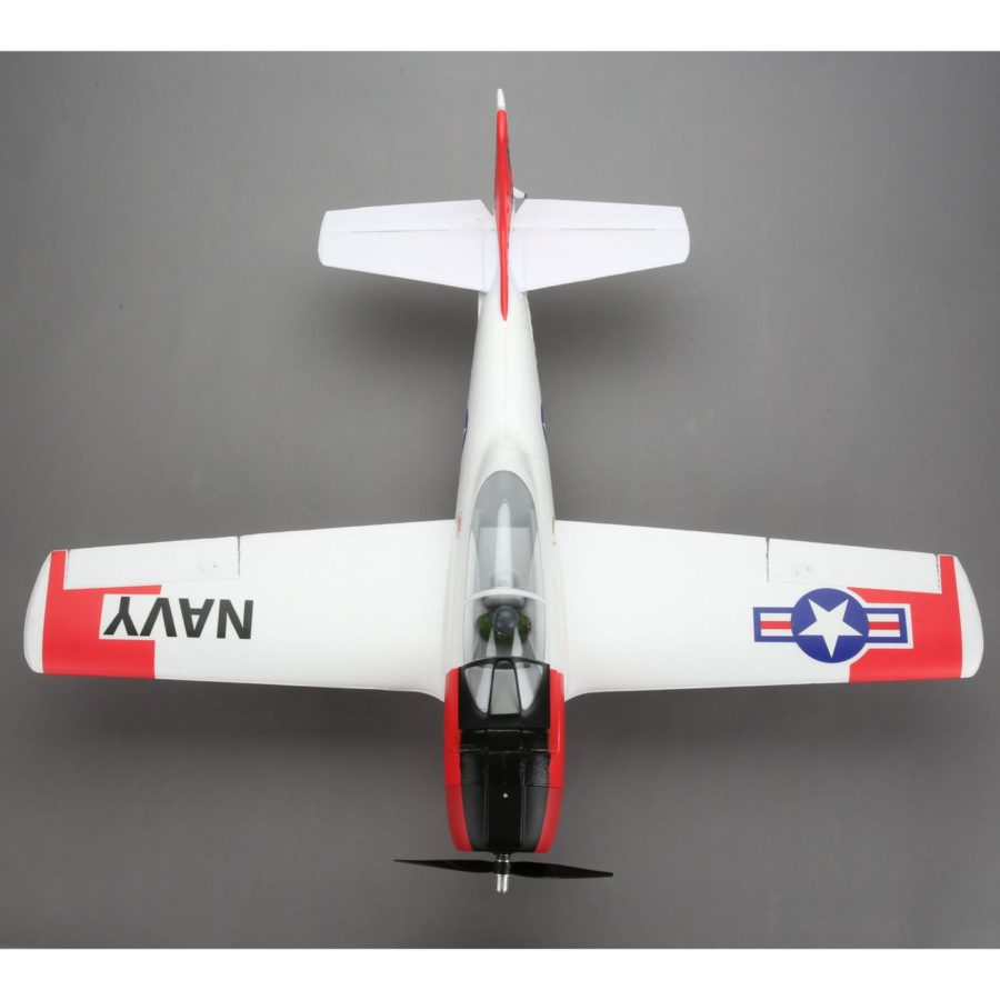 T-28 Trojan 1.1m Bnf Basic W|as3x And Ss