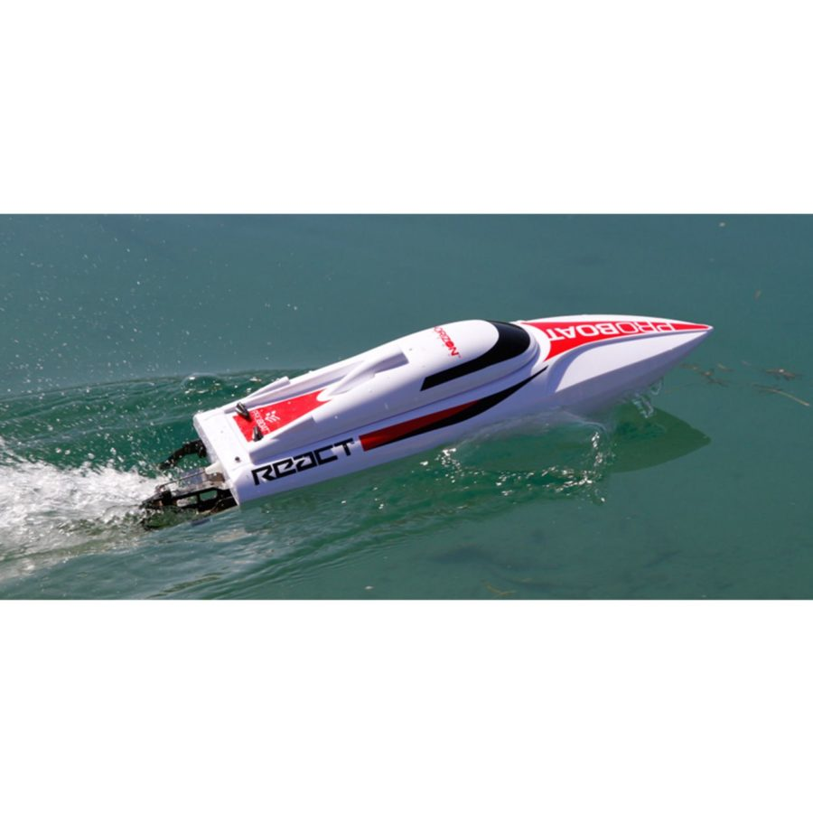 React 17-inch Self-righting Deep-v Brushed:rtr