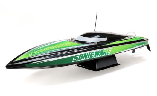 Sonicwake 36″ Self-Righting Black|Green