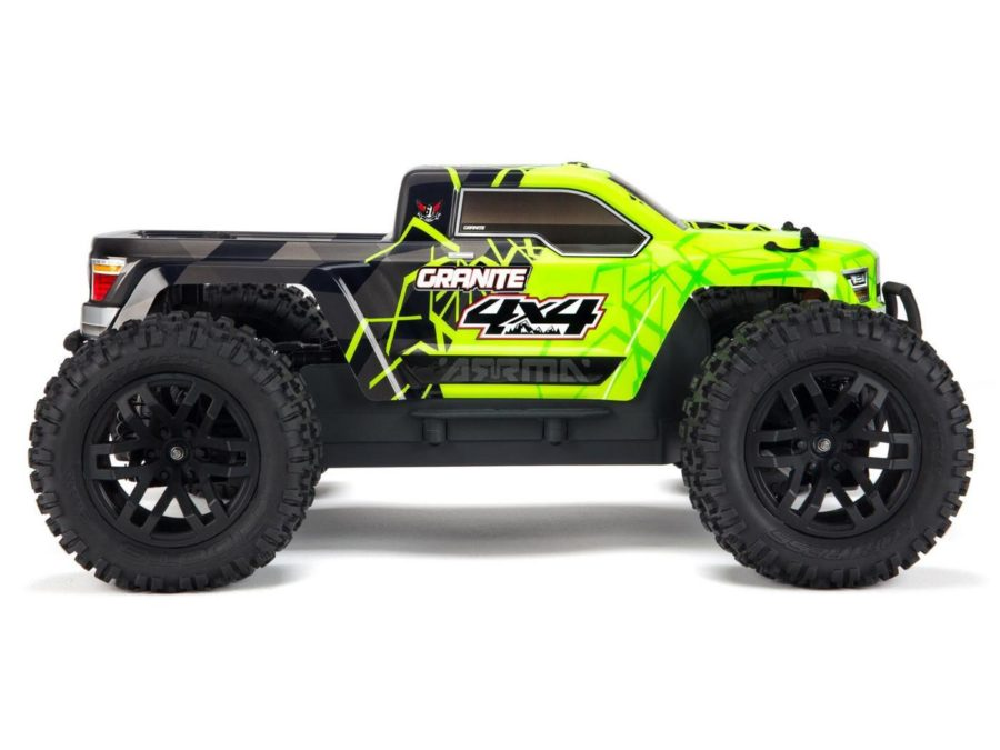 Arrma 1|10 Granite Mega 4×4 Brushed 4wd Mt – Green | Black