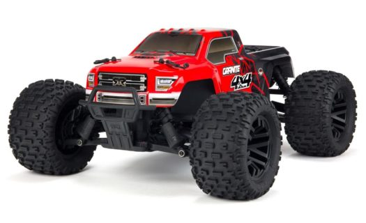 Arrma 1|10 Granite Mega 4×4 Brushed 4WD MT Red|Black