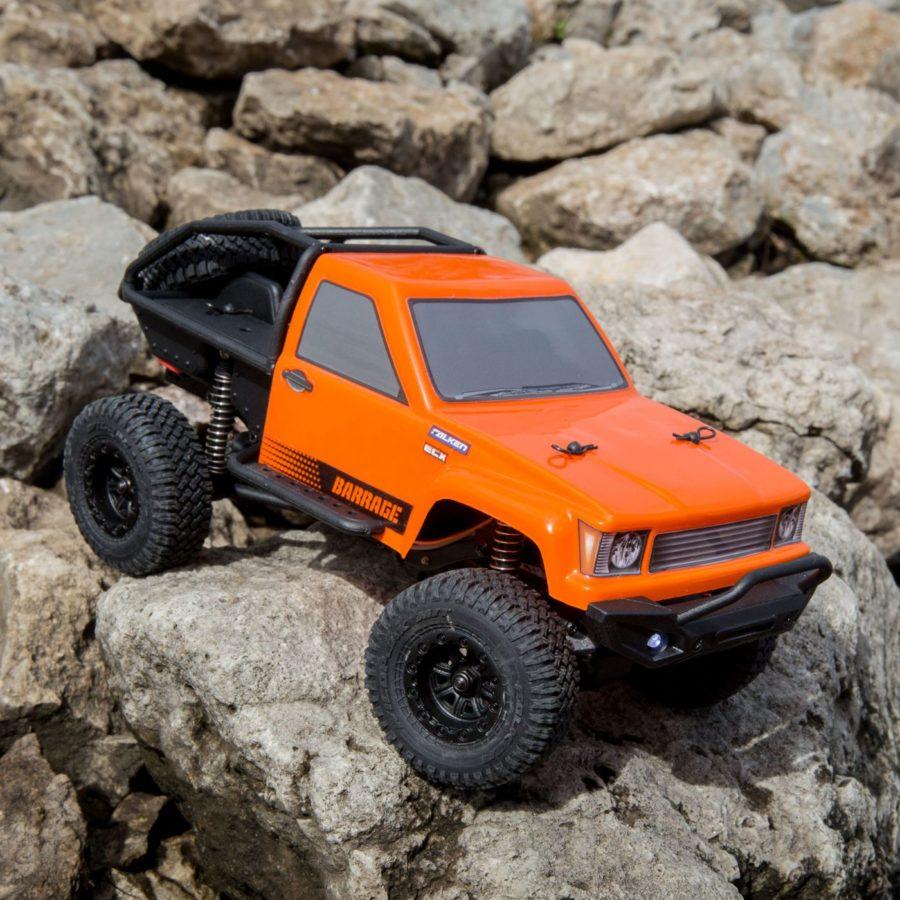 Barrage Orange 4wd 1:24 Rtr