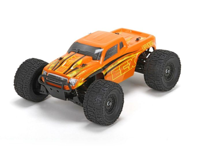 Ruckus 4wd Monster Truck: Org|Yel 1:18 RTR INT