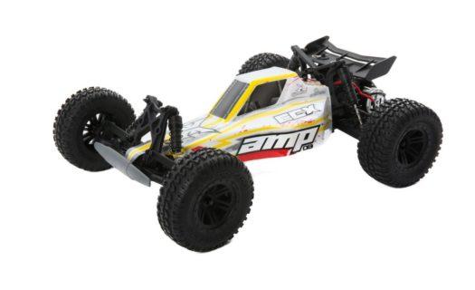 AMP DB 1:10 2wd Desert Buggy: White|Red RTR (Batt |Chg)