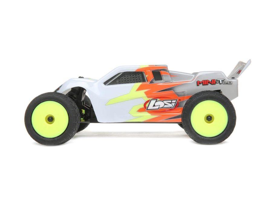 Mini-t 2.0 Rtr, Gray|white: 1|18 2wd