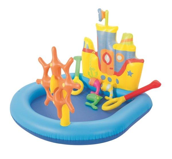 Bestway Tugboat Inflatable Kids Paddling Pool 52211
