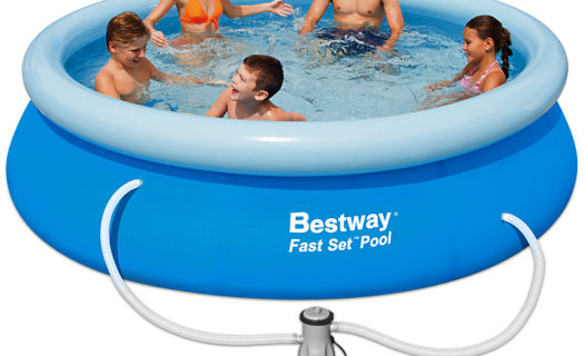 10ft Inflatable Pool With Filter Pump