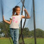 Berg Favorit 430 14ft Trampoline With Comfort Saffety Net – Grey
