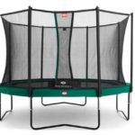Berg Champion Trampoline Green 270 9ft Safety Net Comfort – Green