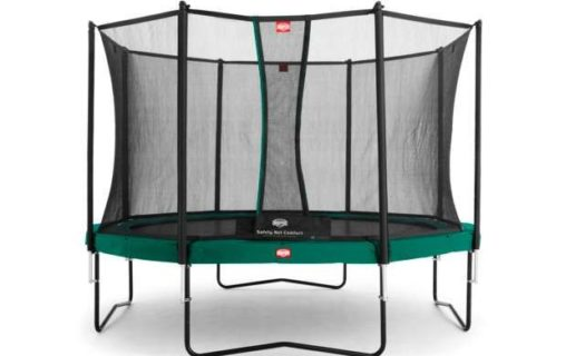 BERG Champion Trampoline Green 270 9ft Safety Net Comfort – Green