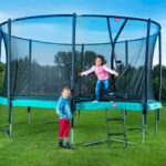 Berg Champion Trampoline 270 9ft With Safety Net Delux – Green