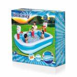 Bestway Deluxe Rectangular Family Pool 10′ X 6′ X 22″ (54009)