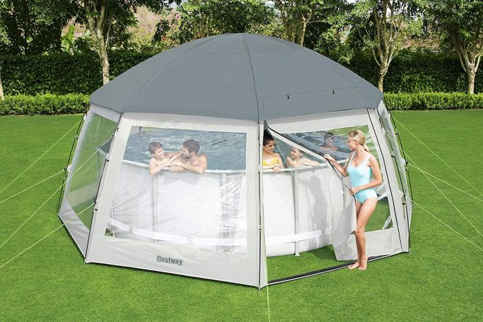 Round Dome For Swimming Pools 600cm Bestway – 58612