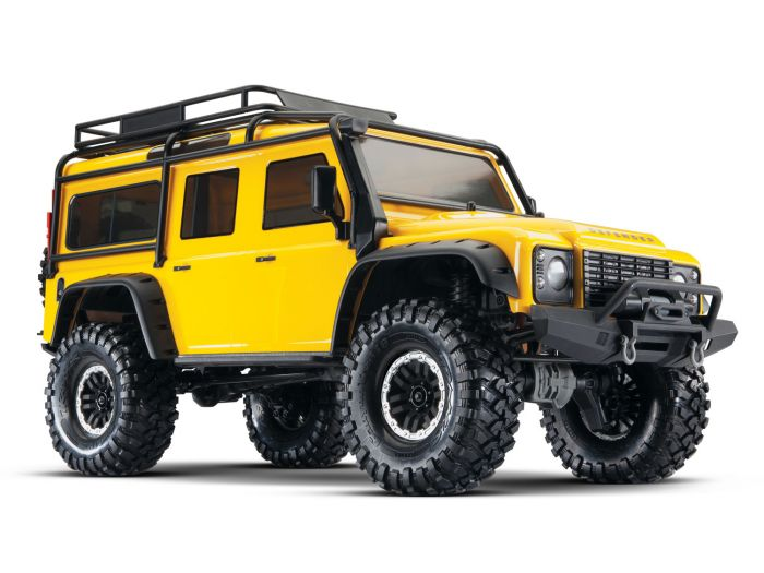 Traxxas TRX-4 Land Rover Defender 110 – Limited Yellow