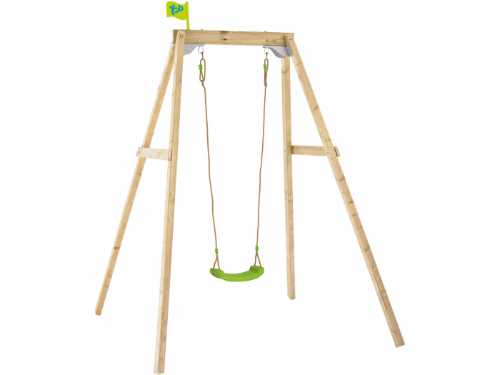 TP Forest Single Wooden Swing Set