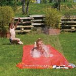 5m X 0.9m Kids Outdoors Inflatable Spray Sprinkler Water Slide