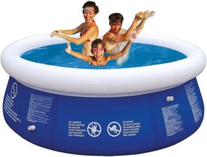 10ft Round Inflatable Fast Set Swimming Pool