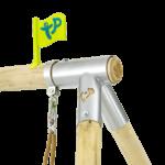 Tp Knightswood Wooden Double & Deck Swing Frame-fsc?