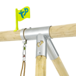 Tp Knightswood Wooden Double & Deck Swing Frame With Extension-fsc?