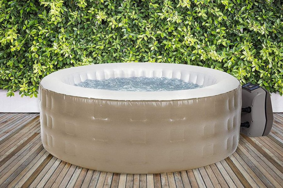 Avenli Lazy Spa Inflatable Hot Tub 2-4 Person Spa
