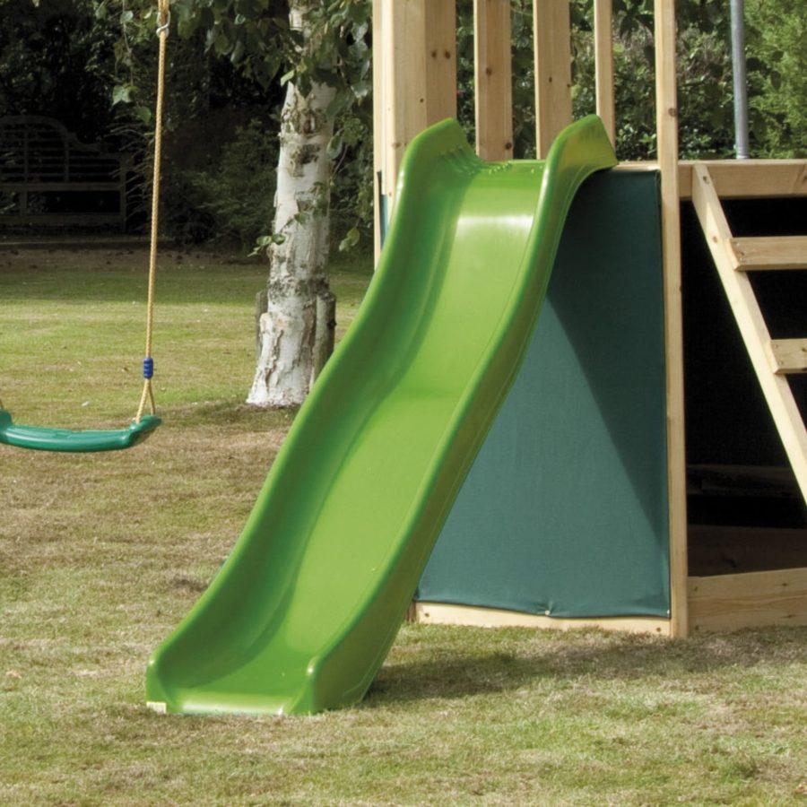 Wavy Slide Lime Green 1.8m