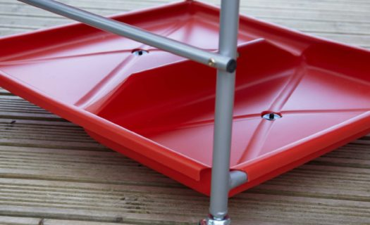 Spare Red Storage Shelf