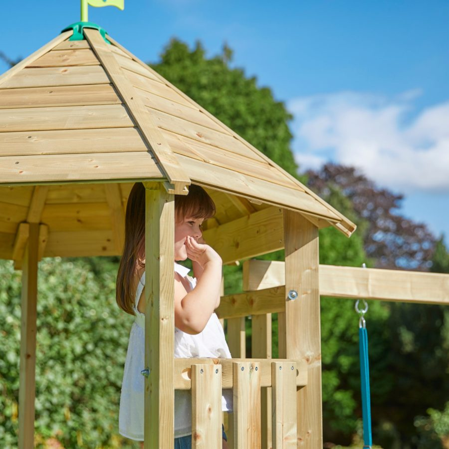 Tp Castlewood Ludlow Wooden Single Swing Set & Slide – Fsc?
