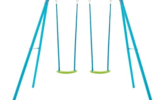 TP Double Metal Swing Set